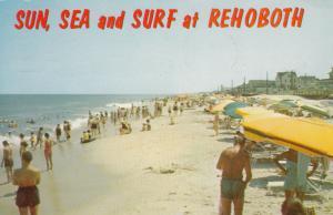 REHOBOTH BEACH, Delaware, 40-60s ; Sun, Sea & Surf