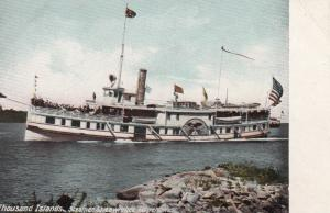 THOUSAND ISLANDS , New York , 1901-07 ; Steamer St. Lawrence