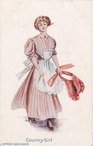 Typical 'Country Girl' Outfit, Bonnet, 10-20s