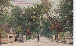 Illinois Rock Island Arsenal Main Entrance