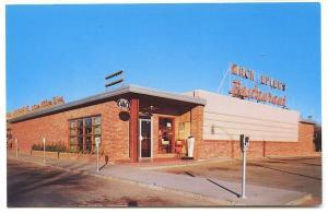 Abilene TX Mack Eplen's Restaurant Third & Hickory Postcard