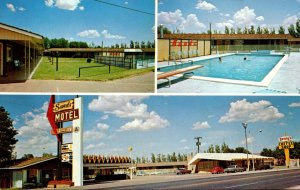 New Mexico Clovis Sands Motel & Denny's Coffee Shop