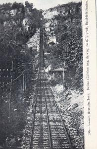 LOOKOUT MOUNTAIN, Tennessee, 00-10s; Incline 4750 ft, showing the 67% grade