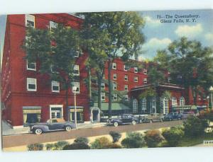 Linen OLD CARS & QUEENSBURY HOTEL Glens Falls New York NY Q9834