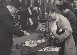 Berwick Jewellary Old London Markets Street BBC Picture Library Photo Postcard