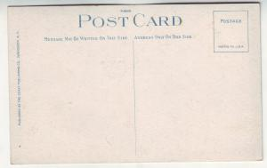P402 JL old postcard vancouver b.c. suspension bridge, people canada
