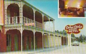 Louisiana Lake Cgarles Chateau Charles Highway Hotel