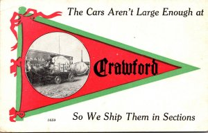 New York Crawford The Cars Aren't Large Enough Pennant Series
