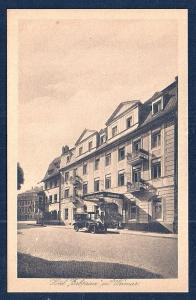 Hotel Prince Weimar Thuringia Germany unused c1920's