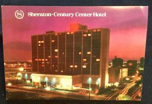 Postcard Unused Sheraton-Century Center Hotel Oklahoma City OK LB