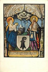 Schweizerischen katholikentages 1924 Anno Santo religion topic postcard