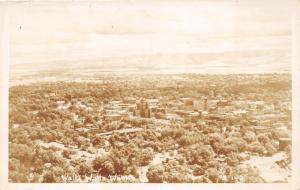 Walla Walla Washington~Bird's Eye View~Vintage Smith's Scenic Views RPPC