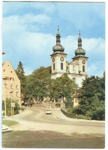 Germany, Donaueschingen, Blick zur Stadtkirche, dated marked, unused Postcard