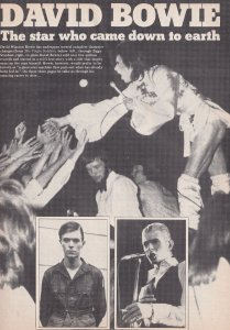 Diana Ross David Bowie The Carpenters Rare Capital Radio1976 Magazine