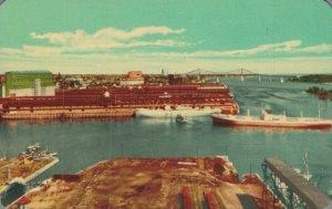 Canada Montreal Harbour Port de Montreal 03.87