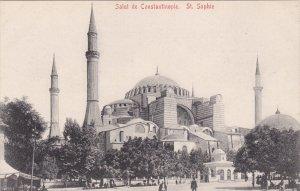 CONSTANTINOPLE, Turkey, 1900-1910's; Salut De Constantinople, St. Sophie