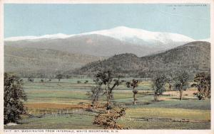 Intervale NH Detroit Publishing #5417~Mt Washington in the White Mountains c1909