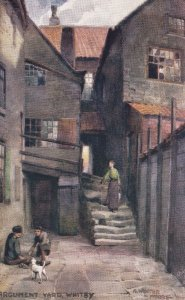 WHITBY, Yorkshire, England, 1900-1910's; Argument Yard, TUCK No. 7501