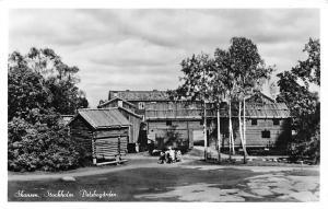 Sweden Skansen Stockholm Delsbogarden