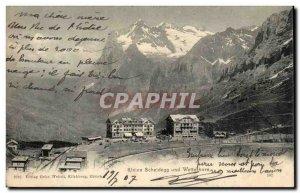 Switzerland Kleine Scheidegg und Wetterhorn