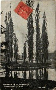 CPA Ermenonville- Tombeau de J.J. Rousseau FRANCE (1020461)