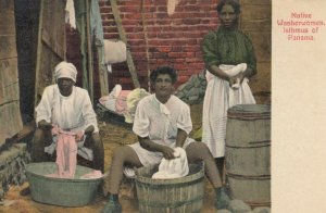ISTHMUS OF PANAMA, 1900-10s; Native Washerwomen