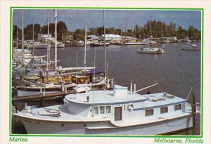 Boats At Melbourne Marina Melbourne Florida