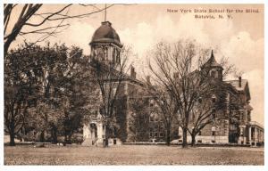 New York  Batavia   State School for the Blind