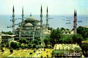 Turkey Istanbul Sultanahmet Camil