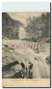 Old Postcard The Cascade Bridge of Spain