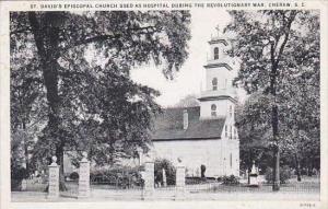 South Carolina Cheraw Saint Davids Episcopal Church Used As Hospital During T...
