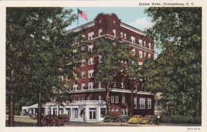 Eutaw Hotel , ORANGEBURG , South Carolina , 30-40s; Classic Cars