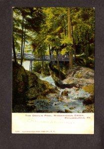 PA Devil's Pool Wissahickon Creek Philadelphia  Pennsylvania Postcard UDB