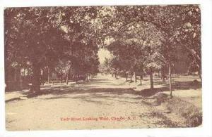 York street, looking West, Chester, South Carolina, PU 1911