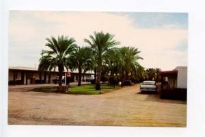 Mesa AZ Motel Old Cars Postcard