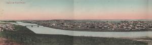 CALGARY , Alberta , Canada , 1901-07 ; Tri-Fold Panorama