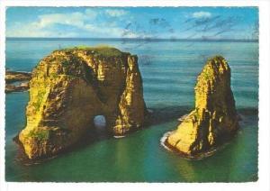 Beruit , Lebanon , PU-1965   Pigeons Rocks