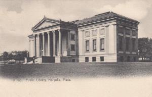 HOLYOKE, Massachusetts , PU-1912 ; Public Library
