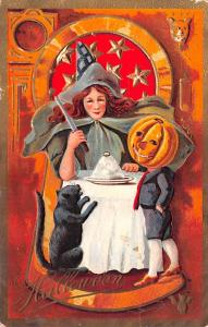 Halloween Post Card Old Vintage Antique A. Livingston 1909