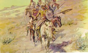 Return of the Warriers, Artist Charles M. Russell , 50-60s