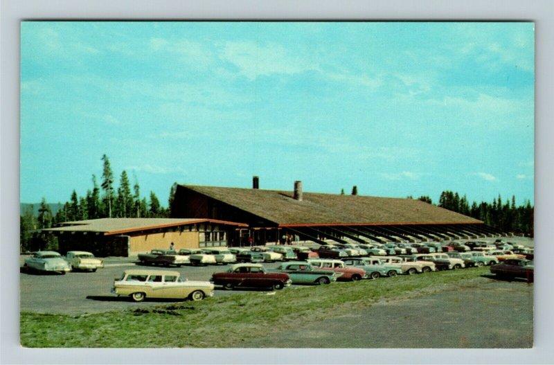 Canyon Village WY- Wyoming, Canyon Lodge, Yellowstone Natl Park, Chrome Postcard