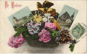 CPA DE BOESSE je Vous Envoie ces Fleurs - Scenes (1141450)