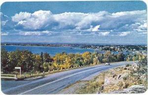 Callander Bay 9 Miles South of North Bay, Ontario, ON, Canada, Chrome