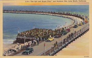 The Spit And Argue Club And Rainbow Pier Long Beach California