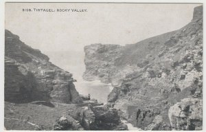 Cornwall; Tintagel, Rocky Valley PPC By Photochrom, Unposted, c 1920's