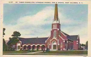 South Carolina West Columbia Mt Tabor Evangelical Lutheran Church