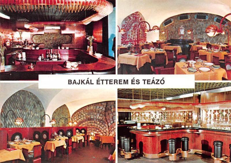 Hungary Budapest Restaurant Bajkal Interior, Bajkal Etterem es Teazo
