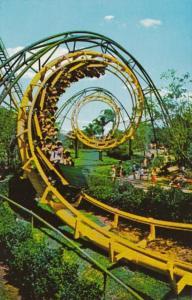 Florida Tampa Busch Gardens The Python Thrill Ride