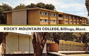 Billings MT Rocky Mountain College~Women's Residence~Student Union 1950s Roahen