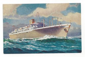 Panama Line Ocean Liners Ancon -- Cristobal , 40-60s